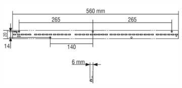 LM560/20E64 - 128294/8T3H - TCI