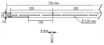 LM700/20E80 - 128305/850H - TCI