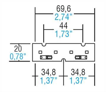 LM70/20E4 - 128899/830AD - TCI