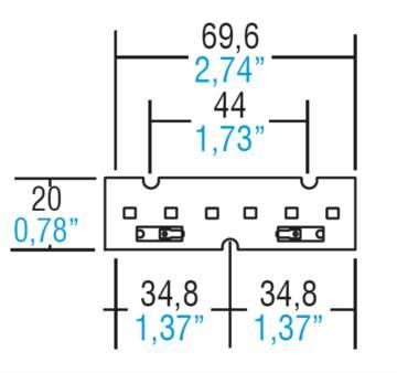 LM70/20E6 - 128980/850H - TCI