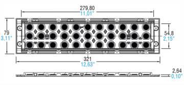 LINEA BOXED 33 LED IP65 - 468780303 - TCI