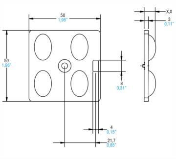 2x2 OPTICAL MODULES STREET - 468780246 - TCI