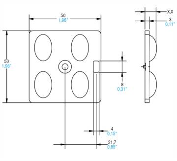 2x2 OPTICAL MODULES HIGH BAY - 468780296 - TCI