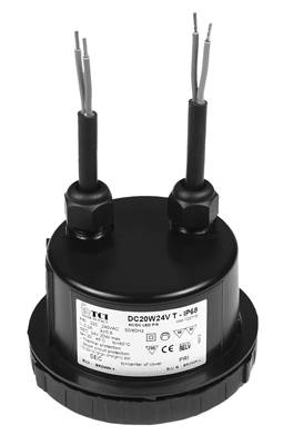DC 20W 24V T IP68 - 122715RES - TCI