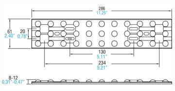 LINEA FLAT 33 LED - 468780114 - TCI