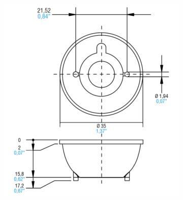 MICKEY REFLECTORS - 468780156 - TCI