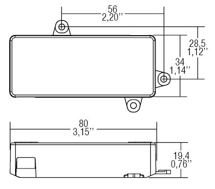 DC 12W 550mA AR - 122039 - TCI