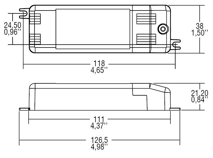 DC 10W 350mA KU2 - 127303 - TCI