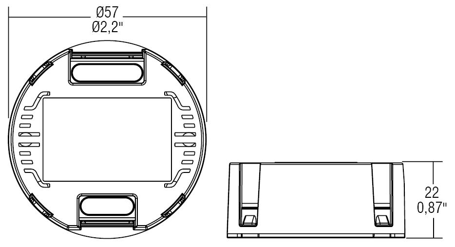 DC 9W 700mA RD57 - 127344 - TCI