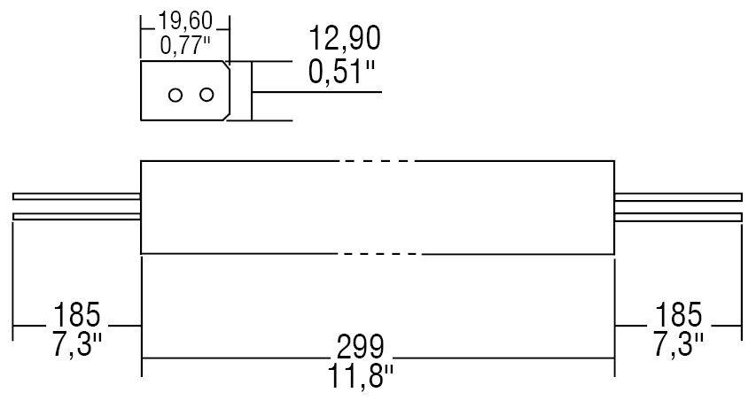 SUPERSLIM 1-10V 230V - 127464 - TCI