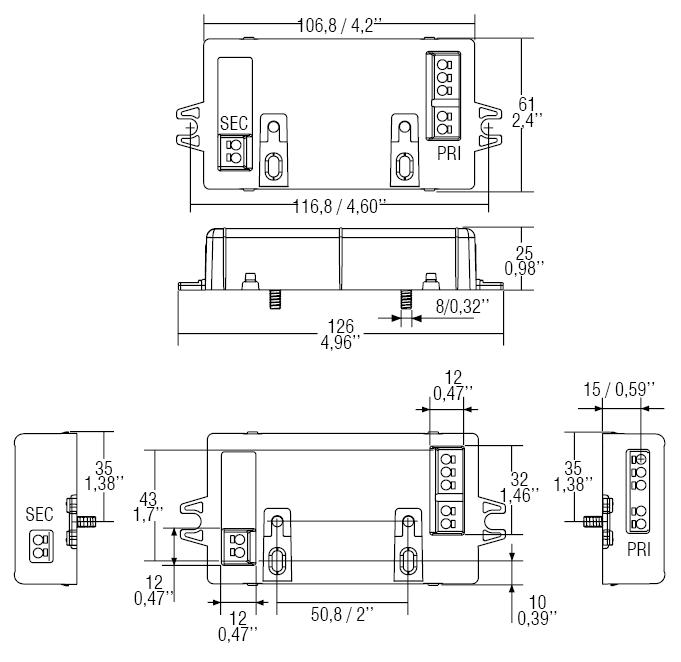US 13/250mA L - 126150/250L - TCI