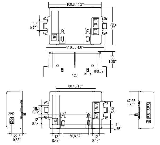 US 30/700mA - 126152/700 - TCI