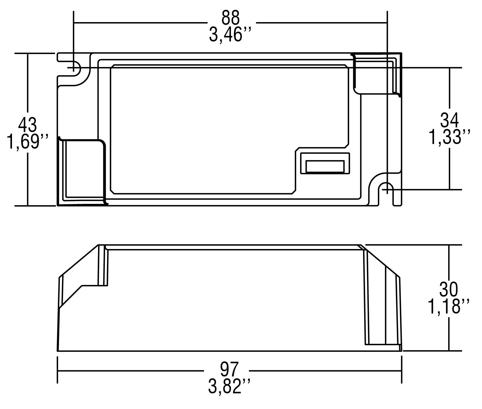 PROFESSIONALE 20 DALI NFC BI - 142013 - TCI