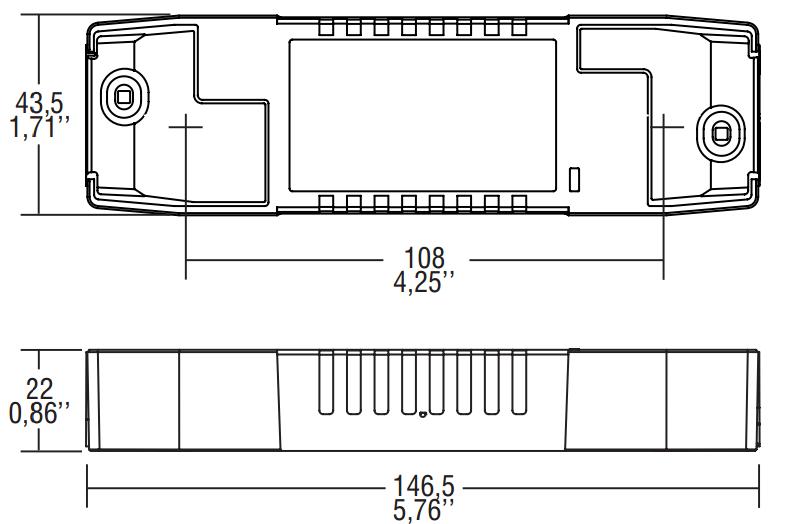 PRO FLAT 40/1050 - 127122 - TCI