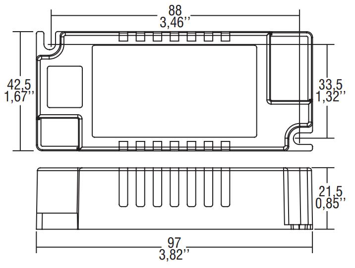 PRO FLAT 40/1050 BI - 127123 - TCI