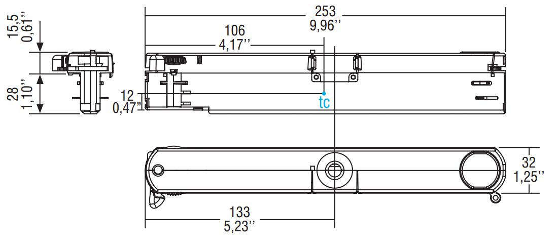 GAC-616 DALI BL - 127583 - TCI