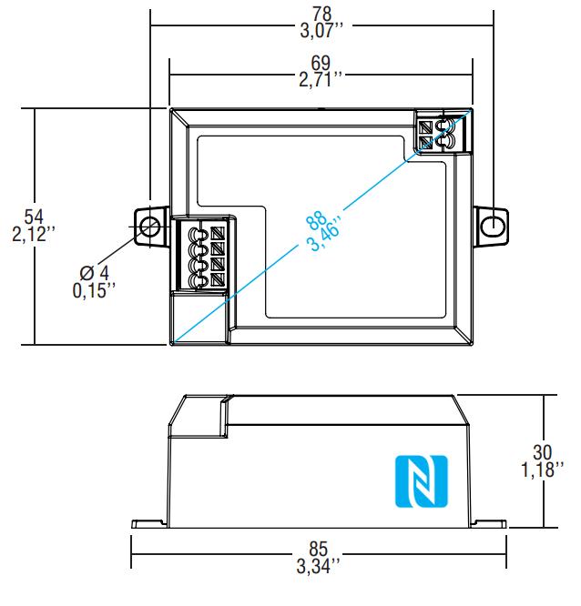 PROFESSIONALE SQUARE NFC - 142024 - TCI